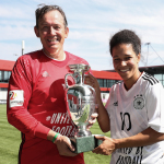 Mark Lovell EURO trophy with Celia Sasic